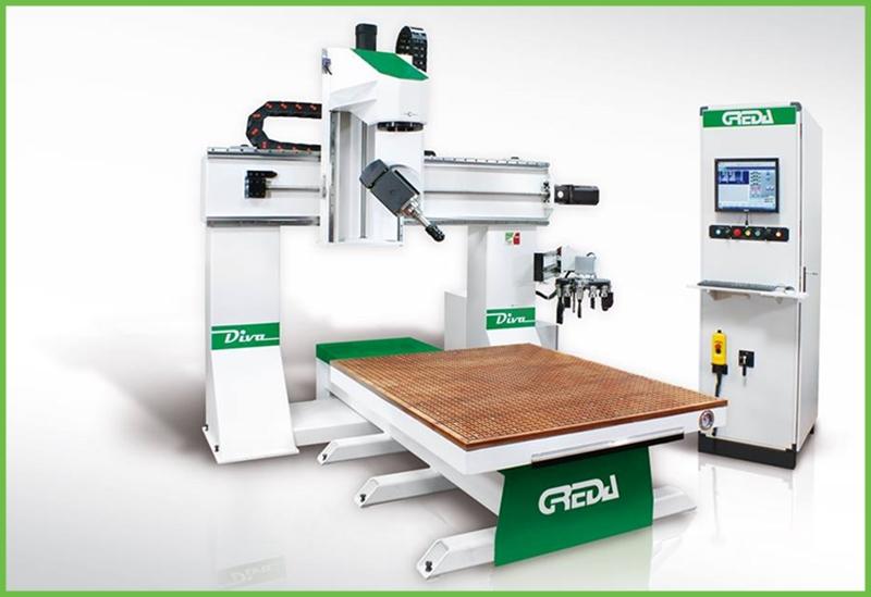 CNC DIVA 2 - CNC DIVA R2+2 - 5-OSNI CNC